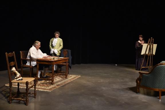 Théâtre / 2018 / Festival de Châtillon sur Chalaronne / Le libertin -  Eric-Emmanuel Schmitt - Cie 23h24   Mascarille, portail des photographes du  spectacle ...